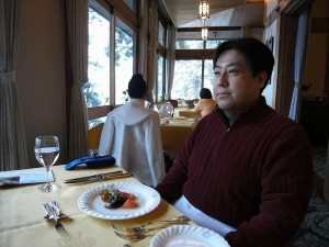 2008/02/11(月) 奈良ホテルにて