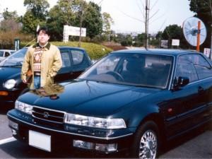 愛車 ホンダ インスパイア 1992夏~1998年9月