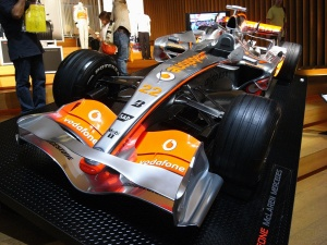 Vodafone McLaren Mercedes MP4-23 Show Car